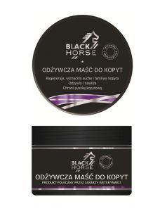 Odżywcza maść do kopyt - Black Horse